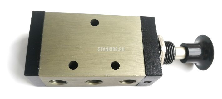 Кнопка-клапан с распределителем тип 5/2 G1/8 PC 6.5x3.5x2.24см