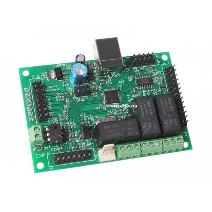 USB контроллер для станка с ЧПУ на 4 оси HyCNC-4L