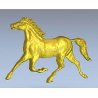 Лошадь-конь профиль Horse_035