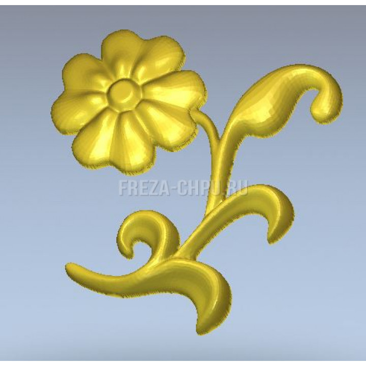 Узор 035 декор цветок