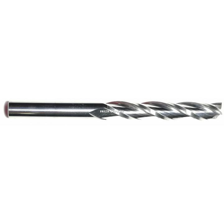 Трехзаходная спиральная фреза 4мм N3LX422
