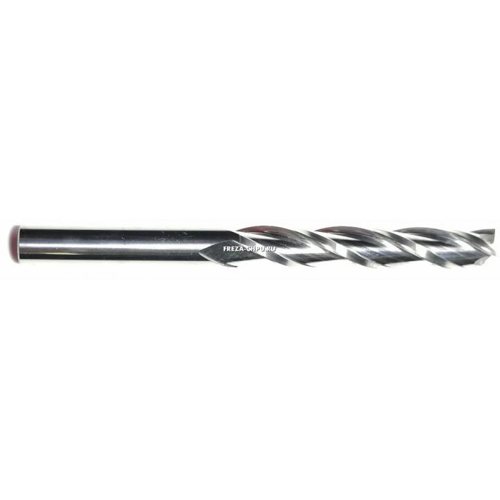Трехзаходная спиральная фреза 3мм N3LX322