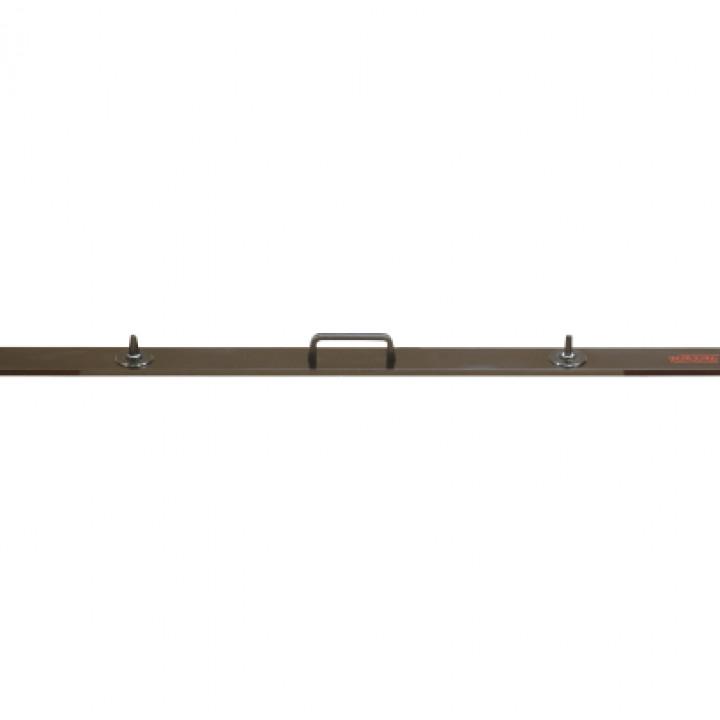 Линейка из алюминия с ручкой и присосками, длина 1200 - 6600 мм