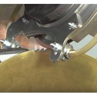 Нарезка новых зубьев пильного диска по металлу HSS