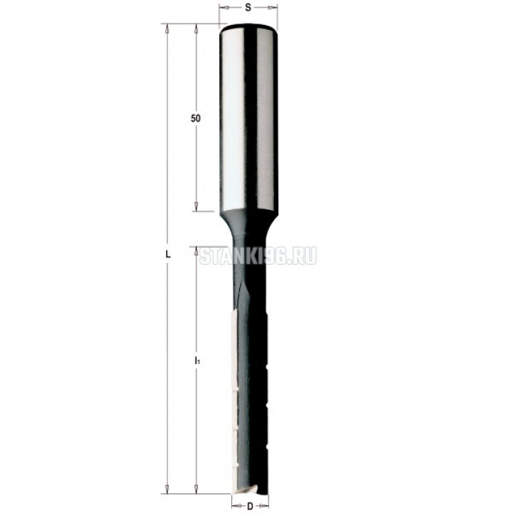 172.060.31 CMT Комплект 6 долбёжных фрез (кейс) KSS хвостовик S=13 D раб.=6-8-10-12-14-16 левое вращ