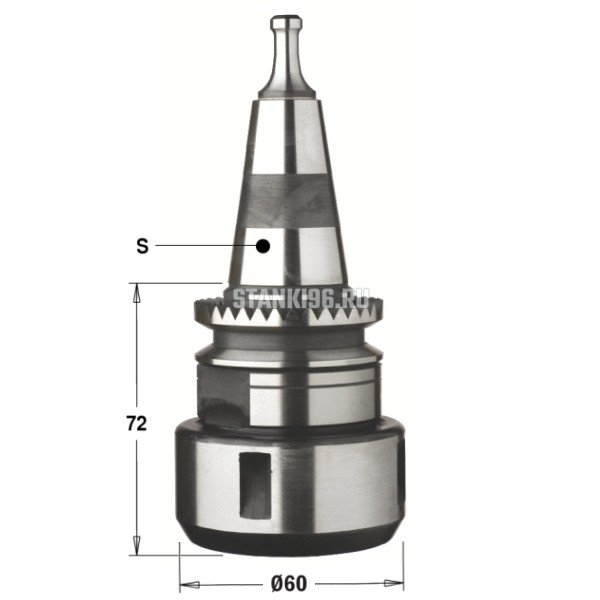 183.255.01 CMT Патрон высокоточный для цанги DIN6388 хвостовик S=ISO30 Morbidelli/SCM