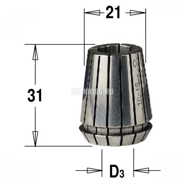 184.030.20 CMT ER20 D раб.=3 цанга высокоточная