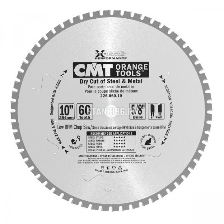 226.080.12M CMT Диск пильный 305x30x2,2/1,8 0° 8° прямой с фаской зуб Z=80