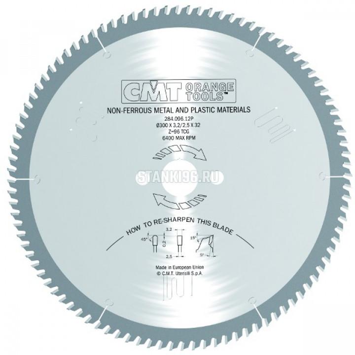 284.096.17P CMT Диск пильный 420x32x3,8/3,2 5º прямой-трапеция зуб Z=96