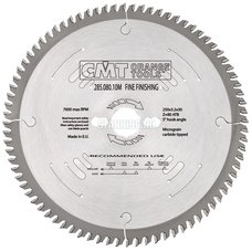 285.080.10M CMT Диск пильный 250x30x3,2/2,2 5° 15° косой зуб Z=80