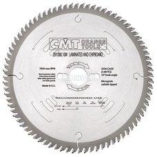 281.080.10MS CMT 250x30x3,2/2,2 Z80 α=0° прямой-трапеция зуб пила (ламинат, МДФ, тв, дерево)
