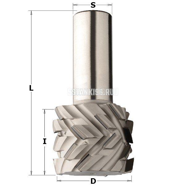 145.512.61 CMT Фреза пазовая алмазная 50x25x55 d=50 I=28 L=85 Z=4+4 правое вращение