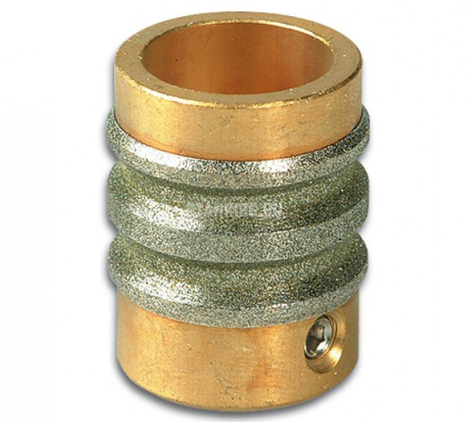 Алмазная шлифовальная головка двойная фасочная для зеркала Diamantor TG H6