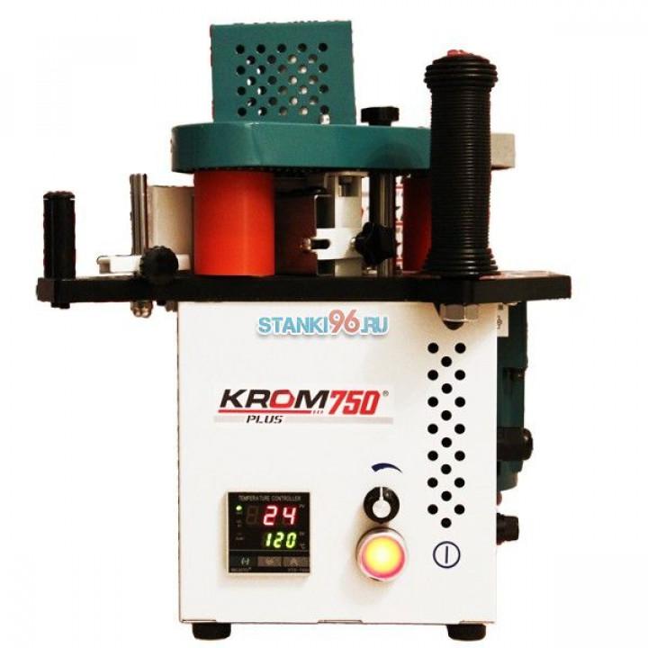 Ручной кромкооблицовочный станок КРОМ 750 Plus со столом