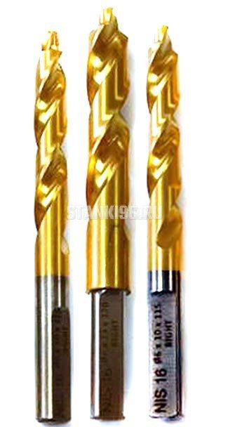 Фрезы тройного сверления под ручку Hegsan H200, H220, Nisan NIS-16, Sonmez