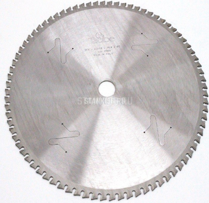 Диск отрезной для пилы по металлу 305x2,2/2,0x25.4 Z=80 TAUBE HM DRY-CUT
