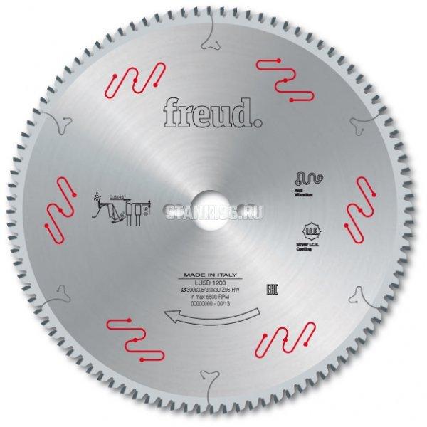 Пильный диск по алюминию и пвх 350x3.5/3x30 z108 Freud