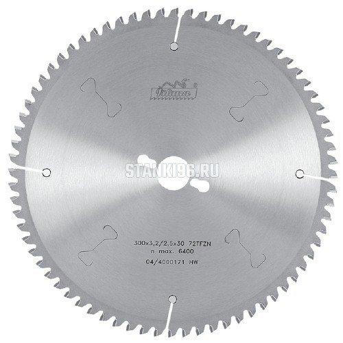 Пильный диск по алюминию и пвх 450x30 z108 TFZ N Pilana 87-13