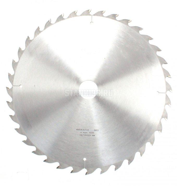 Пильный диск по дереву 450x4/2.8x50 z36 FZ Pilana 80-40