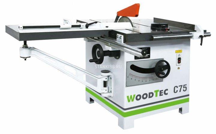 Круглопильный станок WoodTec C 75