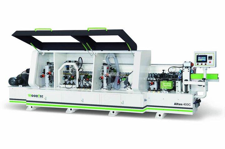 Станок для облицовывания кромок мебельных деталей WoodTec Altus 400 C