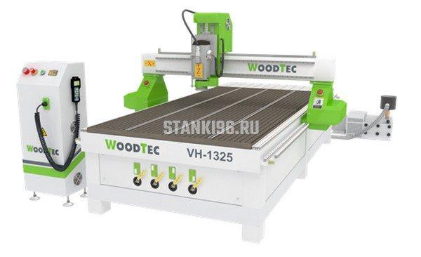 Фрезерно-гравировальный станок с ЧПУ WoodTec VH 1325