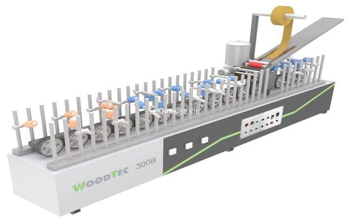 Станок для облицовывания погонажных изделий WoodTec 300 B