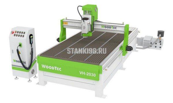 Фрезерно-гравировальный станок с ЧПУ WoodTec VH 2030