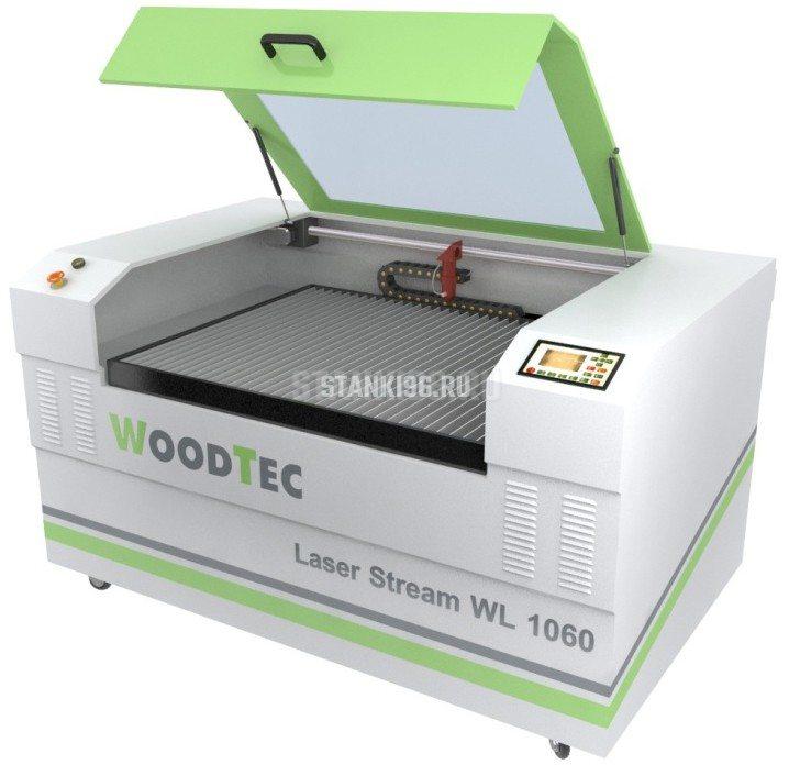 Лазерно-гравировальный станок с ЧПУ WoodTec LaserStream WL 1060