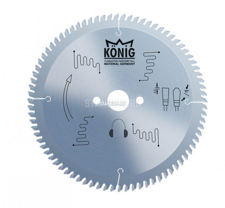 Пильный диск по алюминию и пвх 400x4/3.3x30 z108 Konig