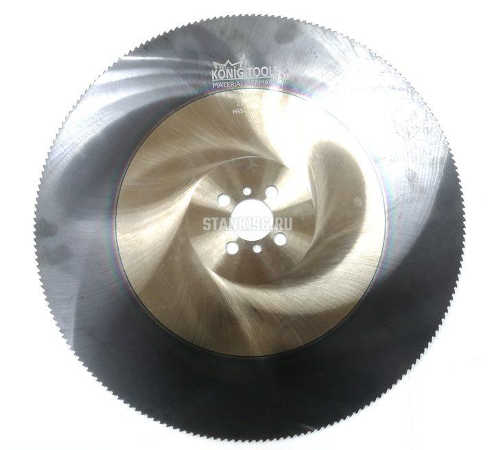 Пильный диск по нержавеющей стали TiAlN 620x4,0x50 Z=390 HZ Konig
